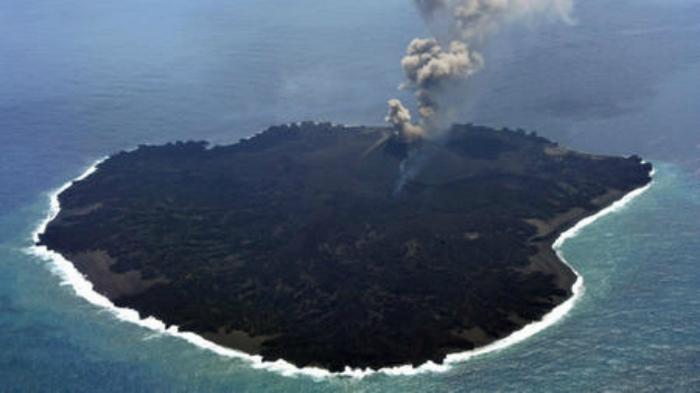 Insula nou-născută din Oceanul Pacific, denumită Niijima, este situată la cca. 1.000 km de Tokio