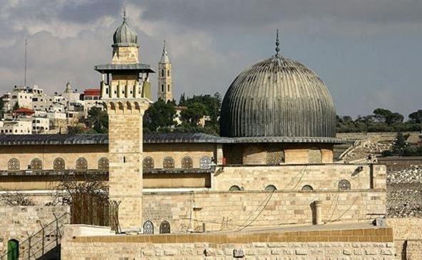 Moscheea al-Aqsa din Ierusalimul de Est.