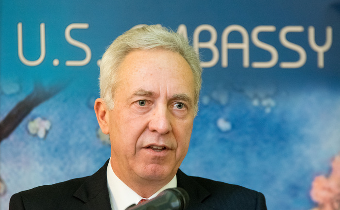 Hans G. Klemm,din 2015 ambasador al Statelor Unite ale Americii în România.
