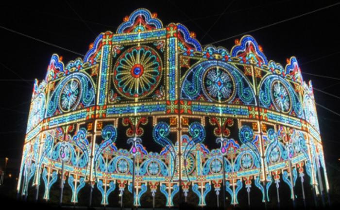 Festivalul luminilor de sărbători din Japonia