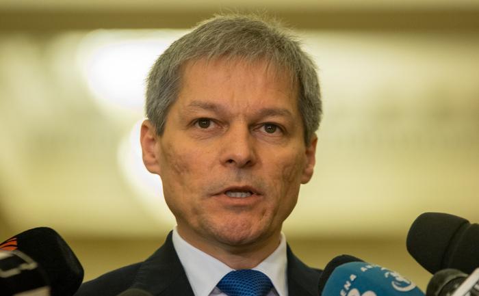 Premierul Dacian Cioloş
