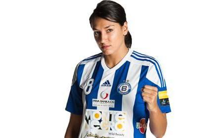 Jucătoarea română Cristina Neagu