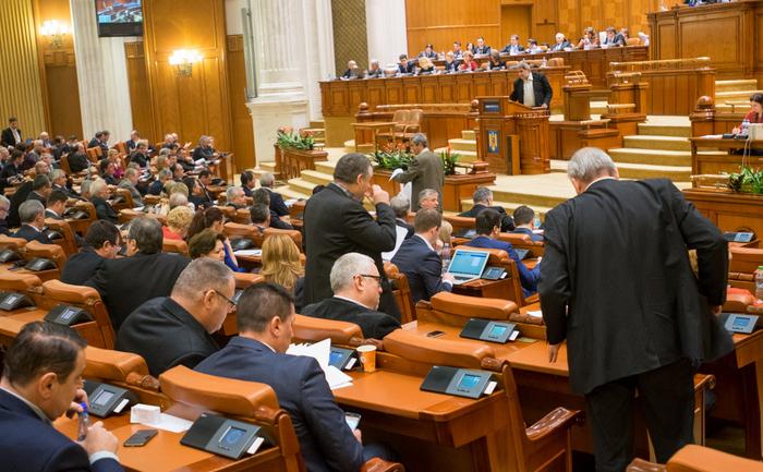 În Parlament la votarea bugetului pe 2016, 16 decembrie 2016