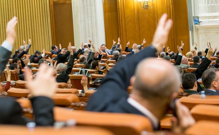 Vot pe Legea Bugetului în Parlament, 16 decembrie 2015