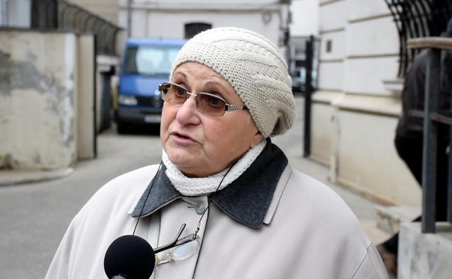 Băncilă Elena, mama lui Şerban Bogdan Stan, tânăr împuşcat la Televiziune pe 23 decembrie 1989.