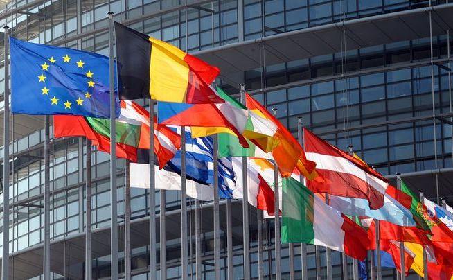 Clădirea Parlamentului European.