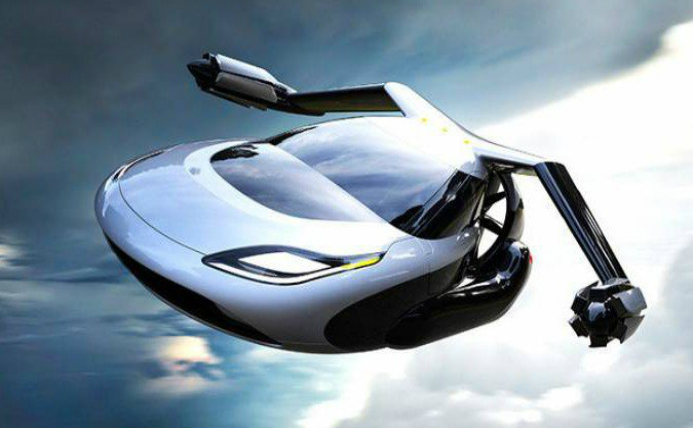 Terrafugia TF-X este prima maşină zburătoare complet autonomă