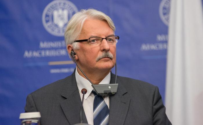 Witold Waszczykowski, Ministrul de Externe al Poloniei