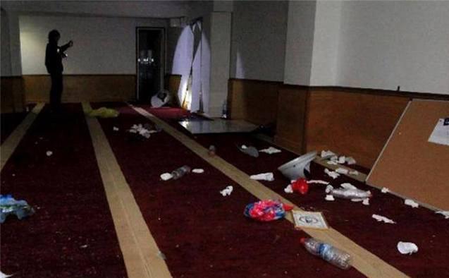 Sala de rugăciune musulmană din Ajaccio devalizată
