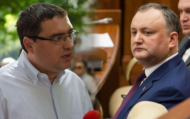 Renato Usatîi şi Igor Dodon