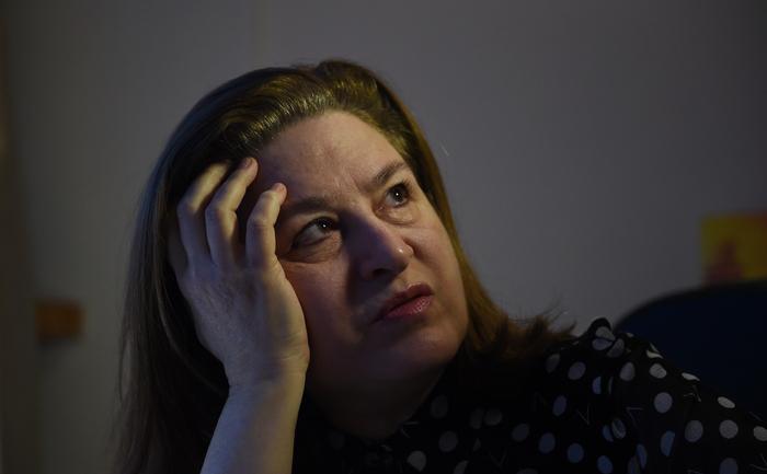 Ursula Gauthier în Beijing 28 decembrie 2015.