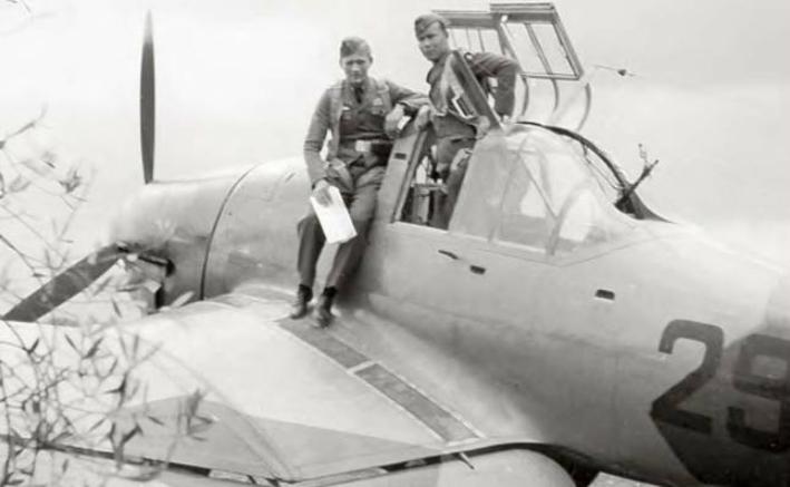 Piloţi din Legiunea germană Condor care au testat avionul Junkers 87 Stuka