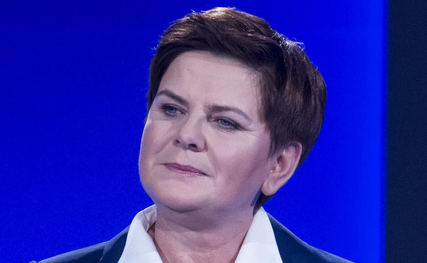 Beata Szydlo, premierul Poloniei