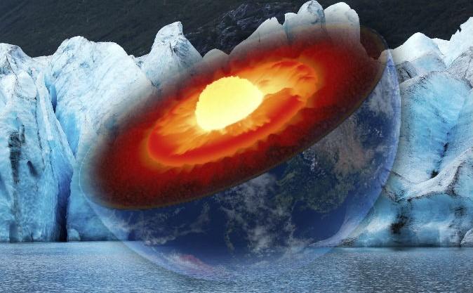 Centrul Pământului, imagine artistică
