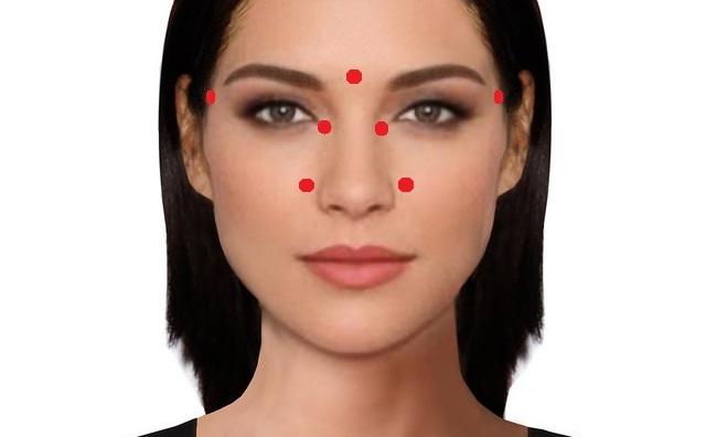 Pentru a trata rapid rinita, masaţi aceste puncte de acupunctură.
