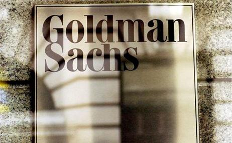 Logo-ul Goldman Sachs.