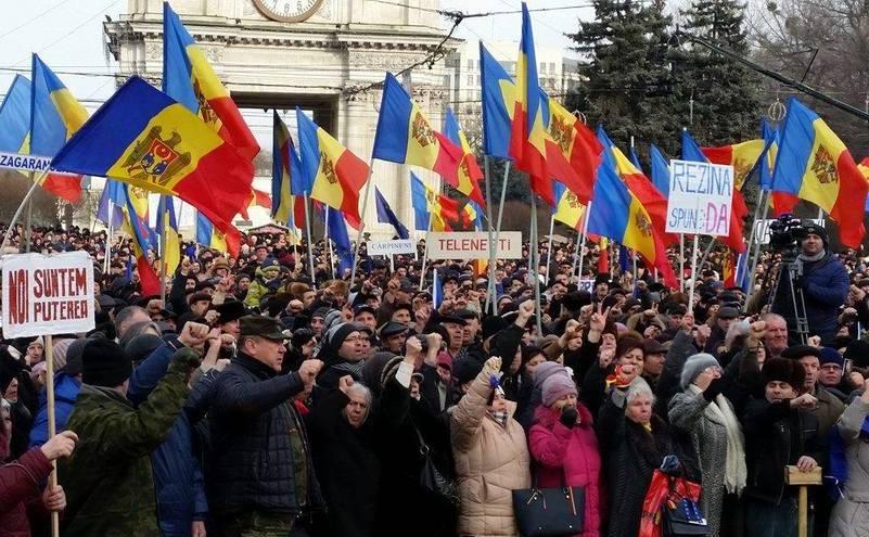 Protest la Chişinău