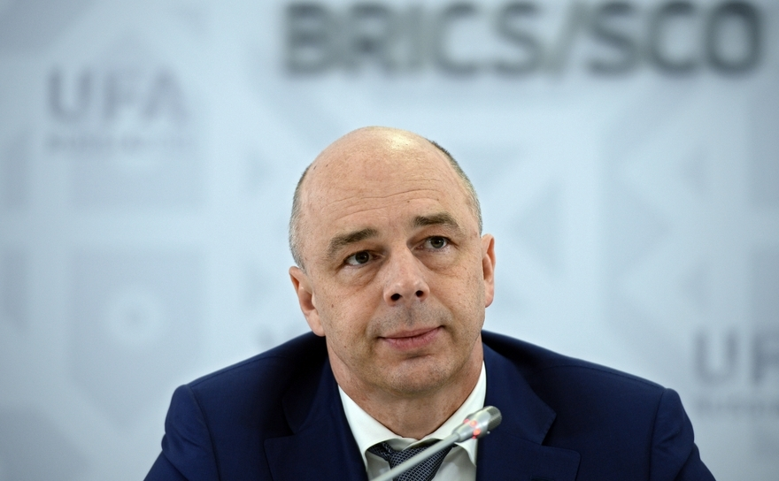 Ministrul de Finanţe al Rusiei,Anton Siluanov