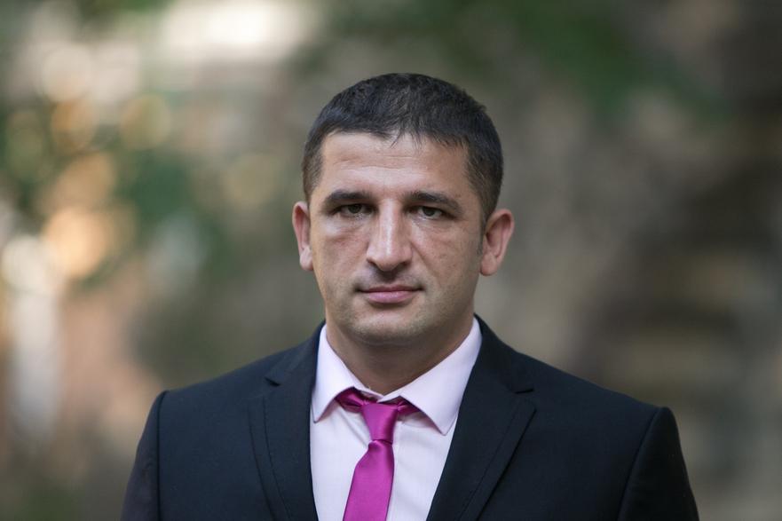 Vlad Ţurcanu, purtătorul de cuvânt al preşedintelui Timofti
