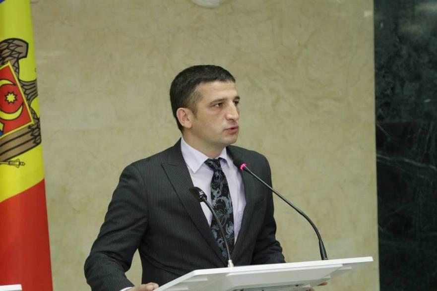 Vlad Ţurcanu, fostul purtător de cuvânt al preşedintelui Nicolae Timofti