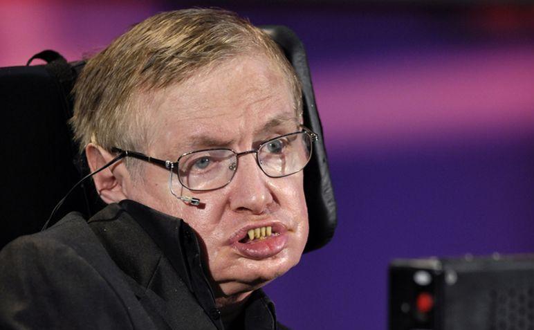Renumitul astrofizician Stephen Hawking.
