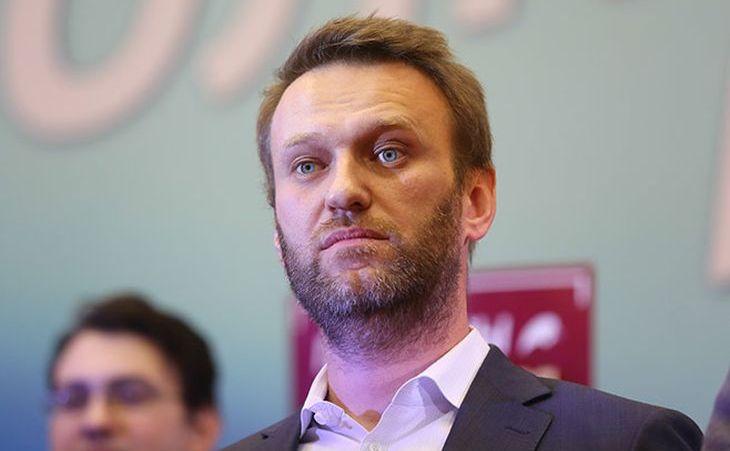 Activistul rus Alexei Navalni.