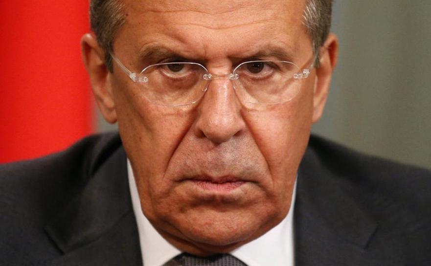 Ministrul rus de externe Serghei Lavrov.