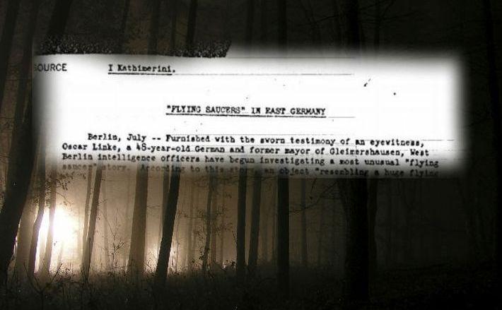 Un document CIA desecretizat despre OZN-uri.