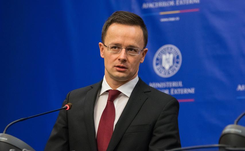 Ministrul de Externe al Ungariei Péter Szijjártó