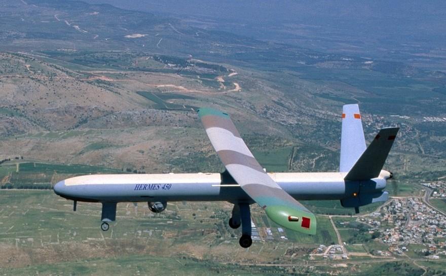 Dronă israeliană.