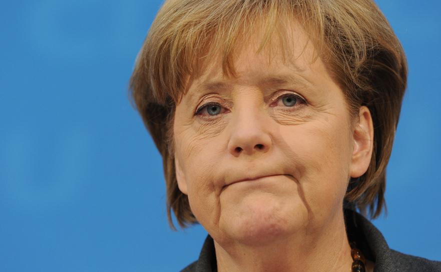 Cancelarul german Angela Merkel.
