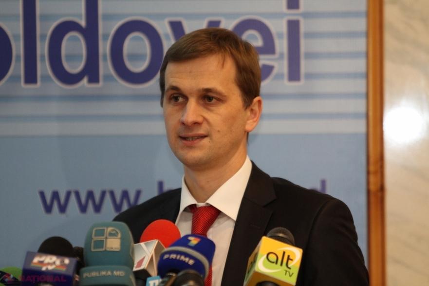 Dorin Drăguţanu, guvernatroul demisionar al BNM
