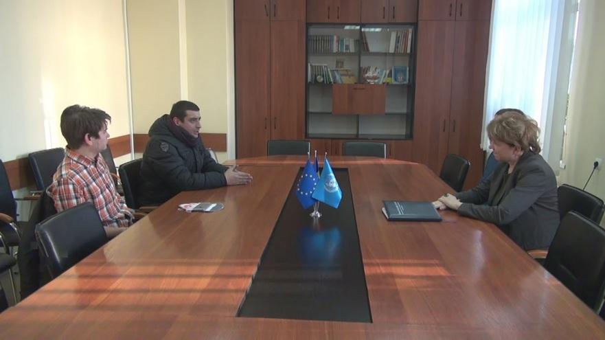 George Simion şi Anatol Ursu, întâlnire cu Olga Poalelungi, directoarea Biroului de Migraţie şi Azil