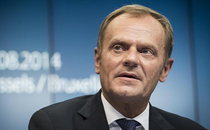 Preşedintele Consiliului European, Donald Tusk.
