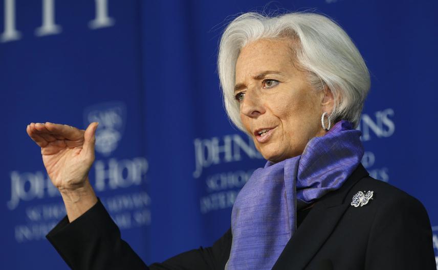 Christine Lagarde, şefa Fondului Monetar Internaţional.