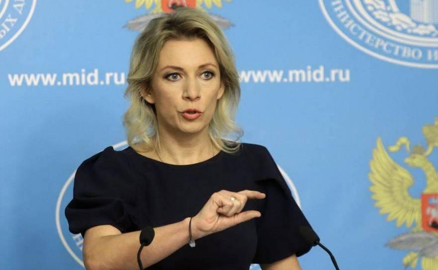 Maria Zaharova, purtătoare de cuvânt a Ministerului rus de Externe.
