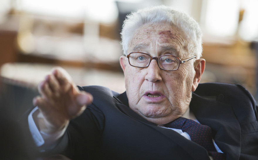 Henry Kissinger, fost secretar de stat american.