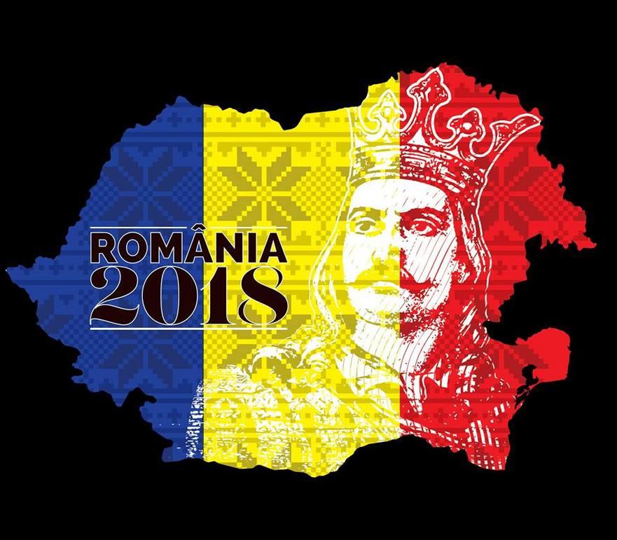 Harta României Mari pentru anul 2018