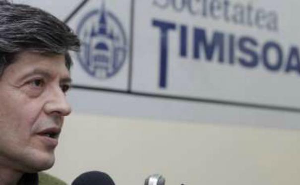 Florian Mihalcea, preşedintele Societăţii Timişoara