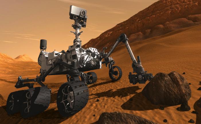 Robotul Curiosity al NASA
