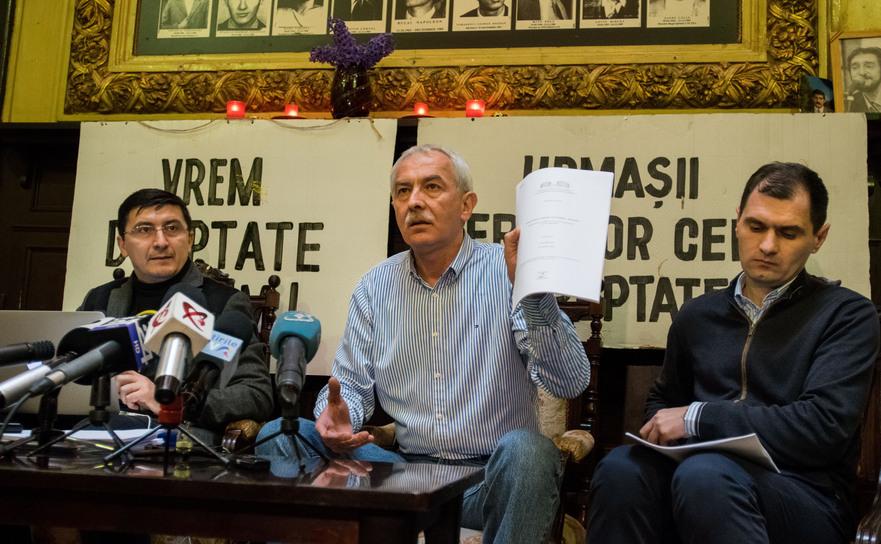 """Conferinţă de Presă la sediul Asociaţiei """"21 Decembrie 1989"""" pe tema ultimei decizii CEDO în dosarul Revoluţiei"""