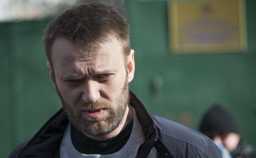 Liderul opoziţiei ruse Alexei Navalni.
