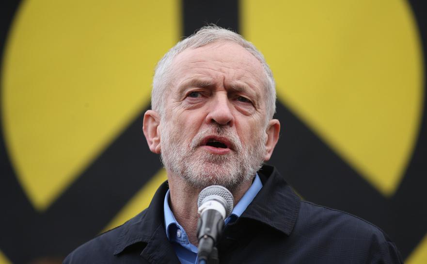 Liderul laburist Jeremy Corbyn.