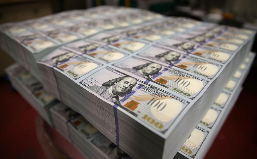 Bancnote americane de 100 de dolari.