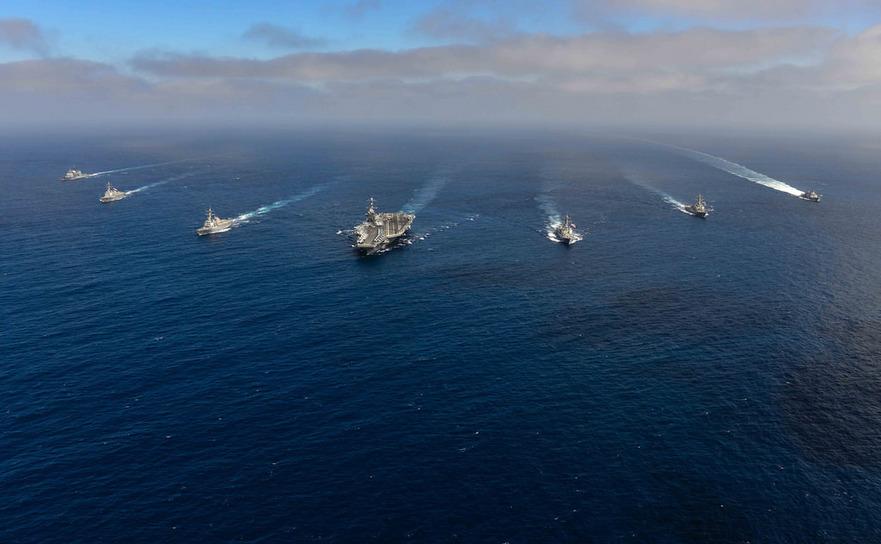 Grupul de nave auxiliare portavionului John C Stennis