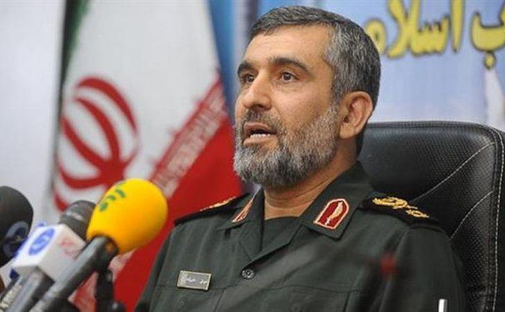 Amir Ali Hajizadeh, şeful diviziei aerospaţiale a Gărzilor Revoluţionare ale Iranului.