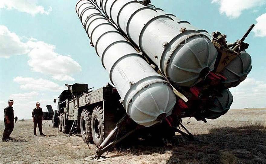 Sistemul rusesc antirachetă S-300.