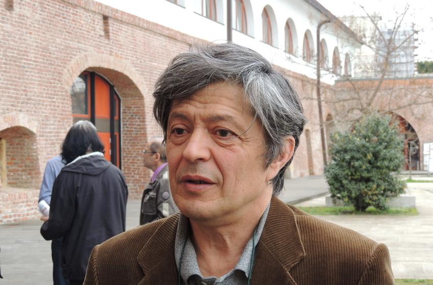 Florian Mihalcea, preşedintele Societăţii Timişoara, în faţa Salonului Vega al Bastionului Theresia
