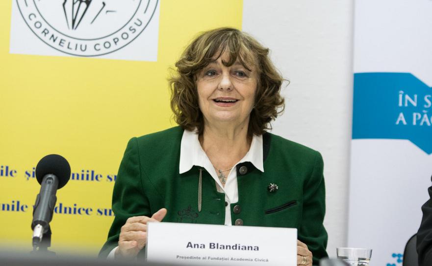 Ana Blandiana, Preşedinte al Fundaţiei Academia Civică