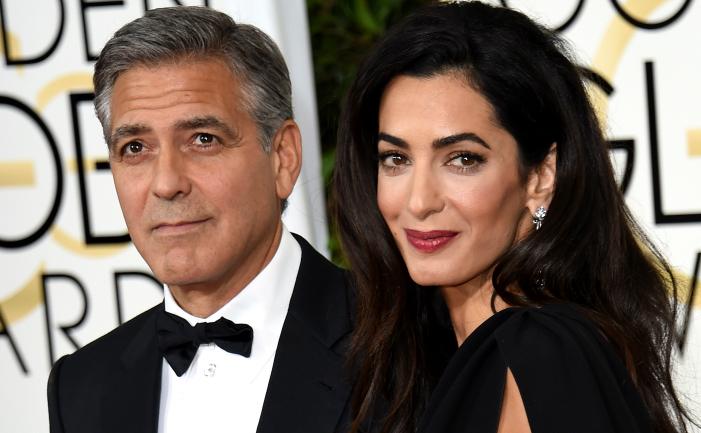 Amal Clooney şi George Clooney